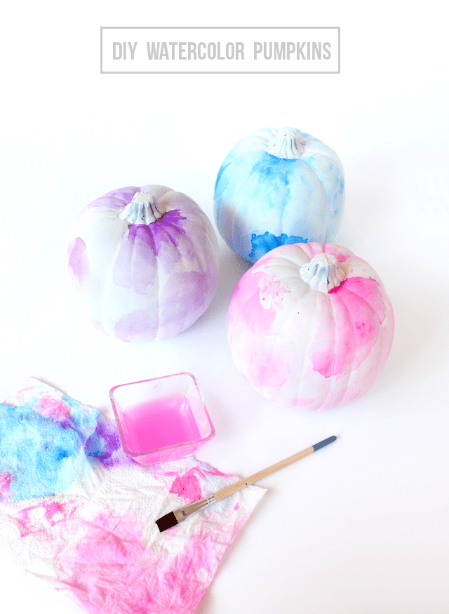DIY-watercolor-pumpkins-@linesacross