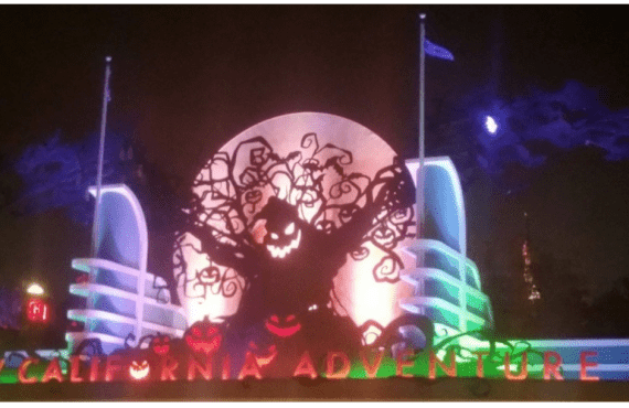 Halloween at Disney California Adventure