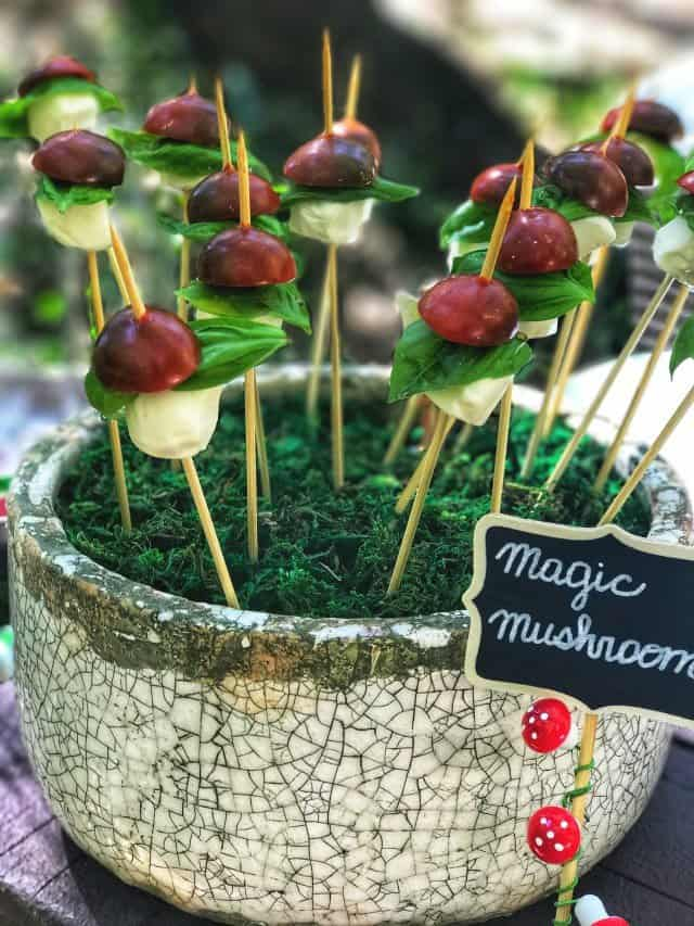 Rustic Woodland Baby Shower Food