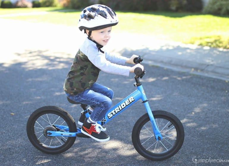 Strider 14X Balance bike to Pedal Bike