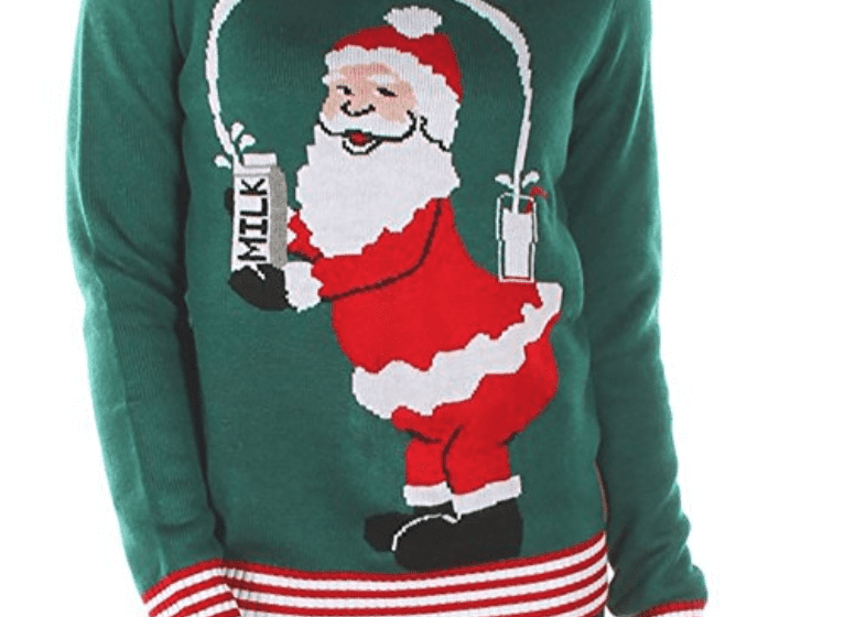 30 Ugly Christmas Sweater Ideas For The Whole Family Simply Real Moms