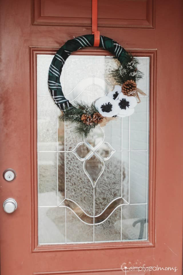 Green Plaid Wreath