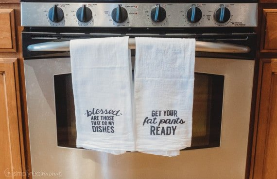 DIY Cheeky Kitchen Towels
