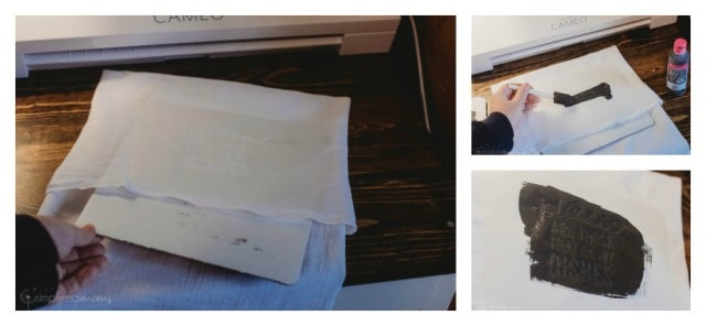 How to screen print your own towels