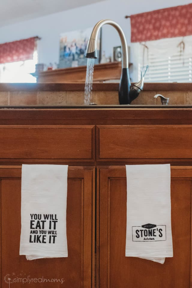 Towels for Mom's Kitchen