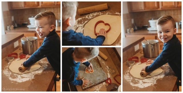 Make Your Own Heart Pizza