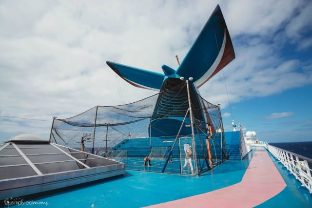 Carnival Splendor Basketball Court