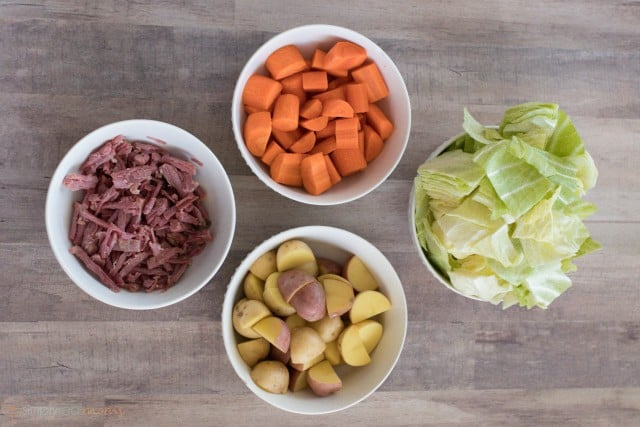 Corned Beef Cabbage Soup Ingredients