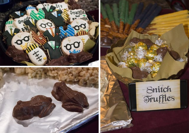 harry potter baby shower