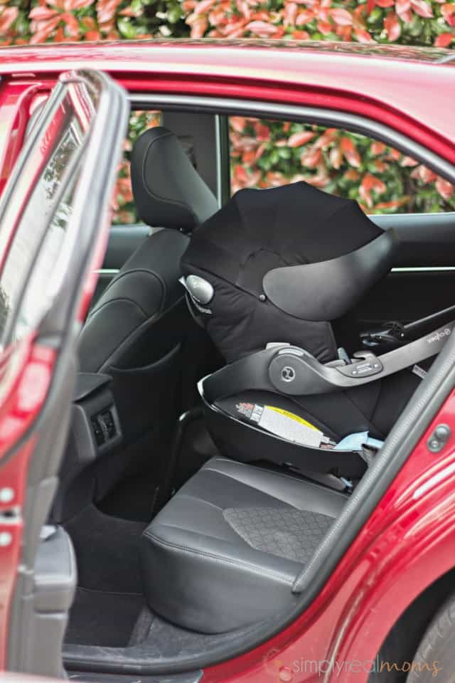 Back seat Toyota Camry