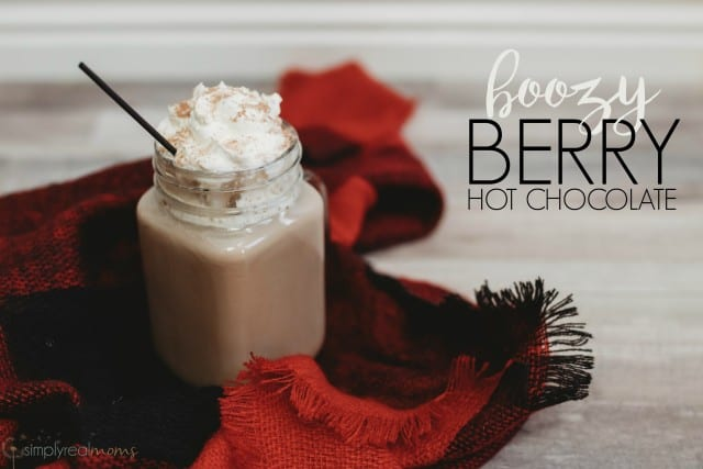 Boozy Berry Hot Chocolate