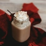 Boozy Huckleberry Hot Chocolate