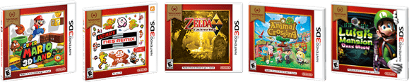 Nintendo Selects Games