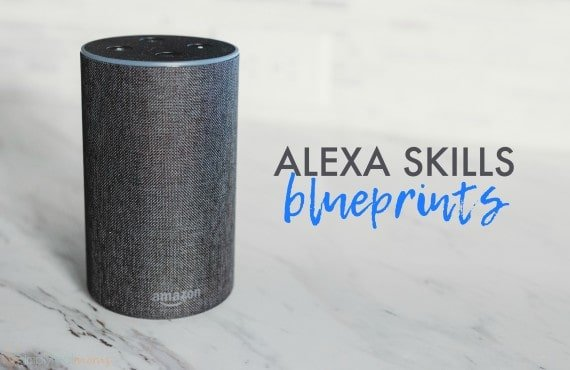 Alexa Skills Blueprints