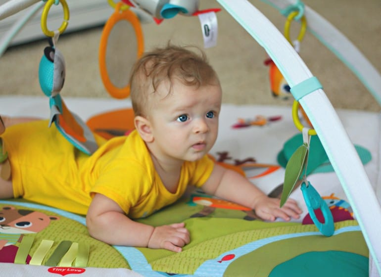 The Benefits Of Tummy Time With Your Baby