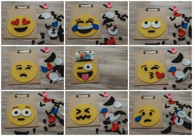 Emoji Felt Board Faces