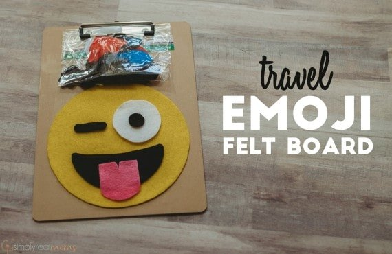 Travel Emoji Felt Board
