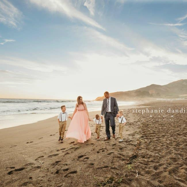 Styled Beach Family Photos