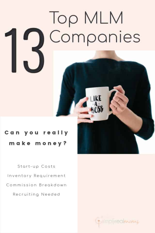 Top MLM companies startup costs and commission