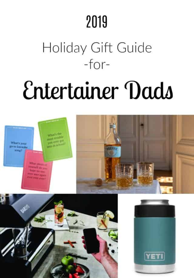 gift guide for entertainer dad