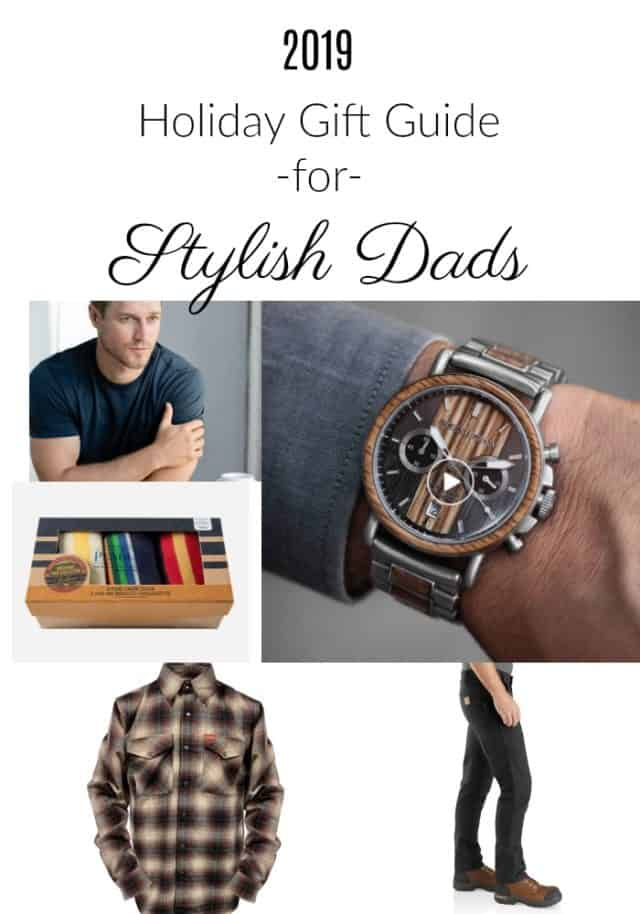 gift guide for stylish dads